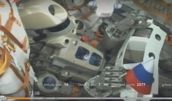 Корабль «Союз МС-14» сроботом «Федором» несмог состыковаться сМКС