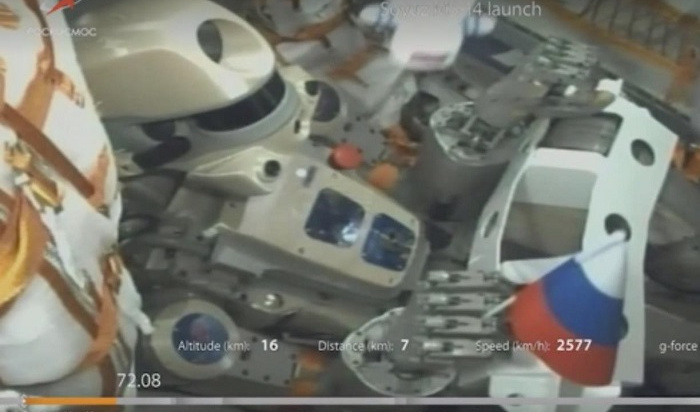 «Союз МС-14» сроботом «Федором» совторой попытки пристыковался кМКС