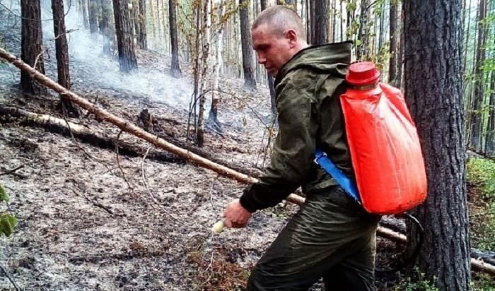 ВИркутской области горит 1,5тысячи гатайги