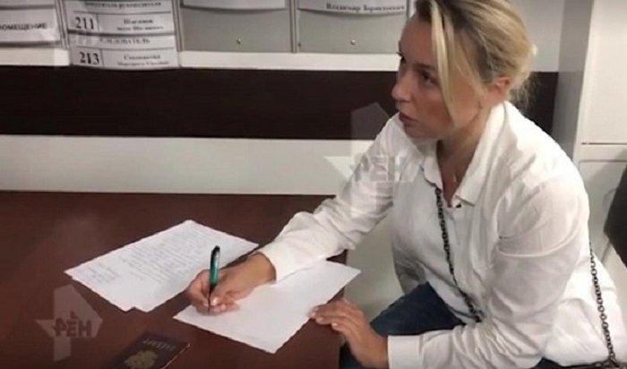Журналистка обратилась вСКпосле нападения сенатора отПриангарья (Видео)