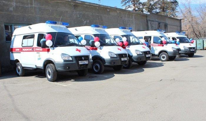Парк автомобилей скорой помощи пополнят 34новыми машинами вИркутской области