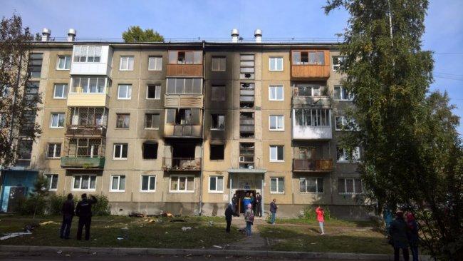 Восемь человек пострадали из-за взрыва газа вАнгарске