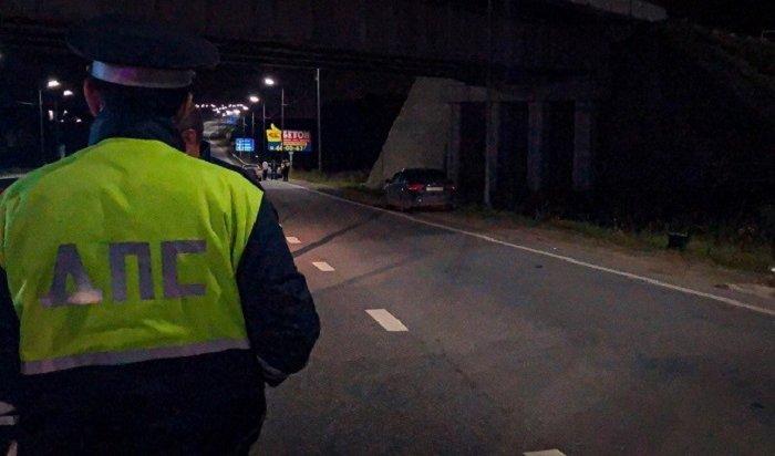 Водитель автомобиля Toyota Celica набольшой скорости сбил насмерть 16-летнюю иркутянку
