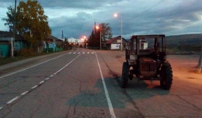 Пьяный тракторист протаранил автомобиль ДПС вКачугском районе