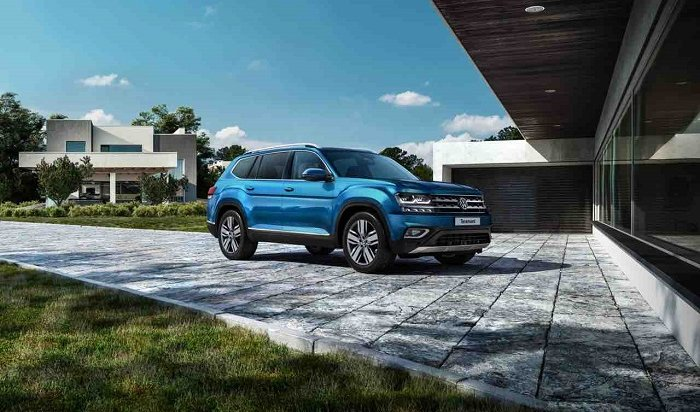 Volkswagen Teramont: больше мощности— больше драйва!