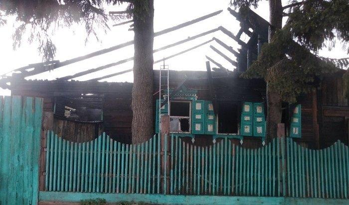 Две трехлетние девочки погибли напожаре вАларском районе