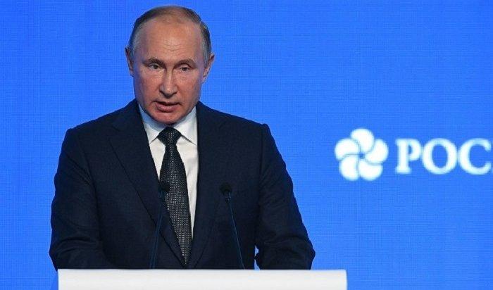 Путин заявил обизбежавшей гражданской войны России (Видео)