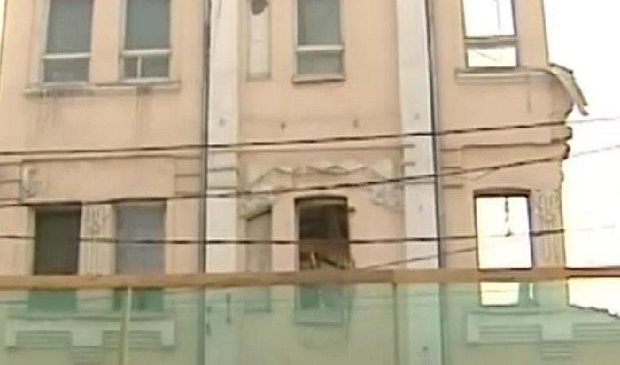 Усадьбу Перевалова сносят вИркутске незаконно (Видео)