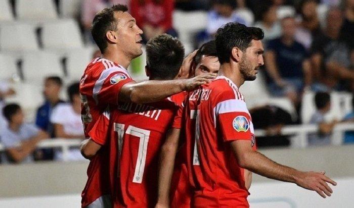 Сборная Россия разгромила команду Кипра ивышла наЕвро-2020