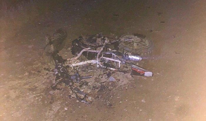Два школьника погибли при столкновении мотоцикла сгрузовиком вЗаларинском районе