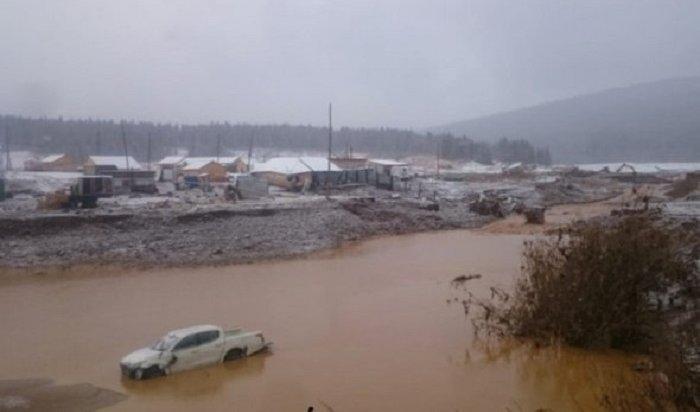 ВКрасноярском крае начали эвакуацию жителей из-за прорыва дамбы (Видео)
