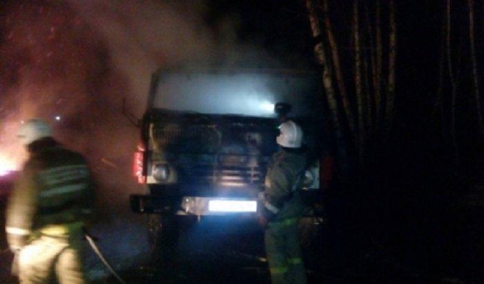 ВИркутской области участились пожары вавтомобилях