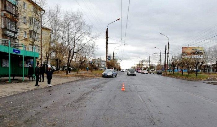 Пьяный водитель сбил пешехода вБратске иуехал сместа ДТП