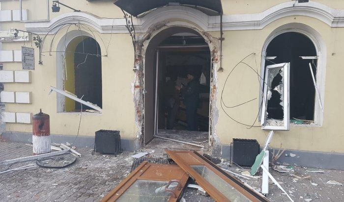В Улан-Удэ 12 человек пострадали при взрыве газа в кафе