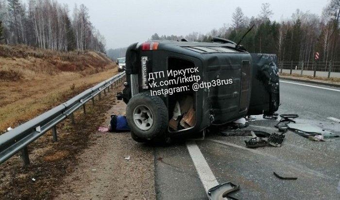 Водитель Toyota Land Cruiser погиб вДТП вАнгарске