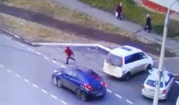 Водитель Toyota Vitz сбил 11-летнего школьника вБратске иуехал сместа ДТП