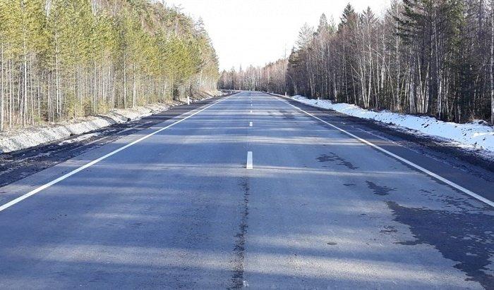 ВПриангарье оштрафовали генподрядчика, выполнявшего реконструкцию Голоустненского тракта