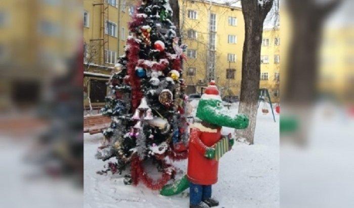 Вцентре Иркутска проходит конкурс налучшую скульптуру кНовому году