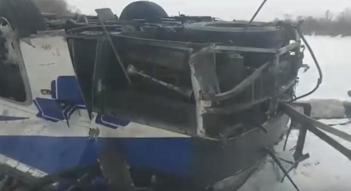 Ваварии савтобусом вЗабайкальском крае погибли 19человек