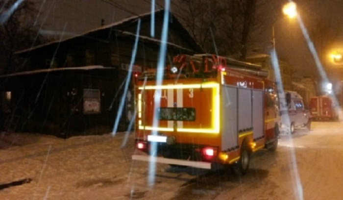 Три человека погибли напожаре вцентре Иркутска