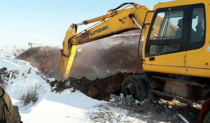 Восстановительные работы натеплосетях Рудногорска планируют завершить вечером 4декабря