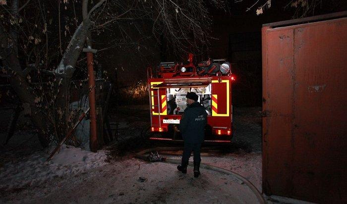 Двоих поджигателей заброшенного дома вцентре Иркутска задержали полицейские