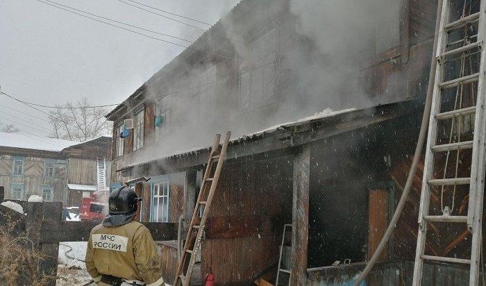 Общежитие педагогического колледжа горело вИркутской области