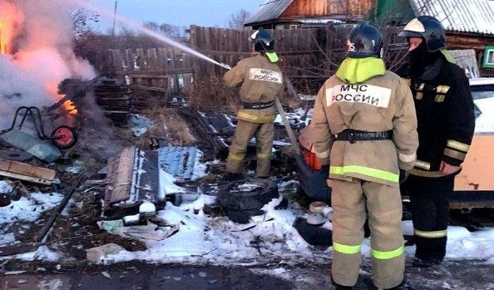 ВЗиме вовремя пожара влетней кухне погибла школьница