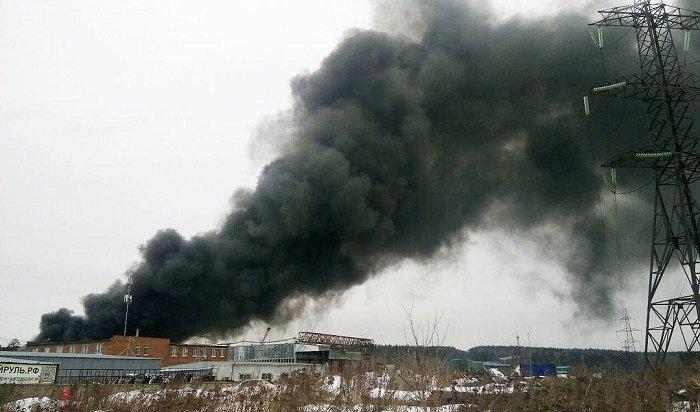 Взрывы нагорящем лакокрасочном заводе слышны вЕкатеринбурге (Видео)