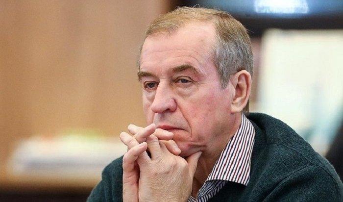 Путин принял отставку губернатора Иркутской области Сергея Левченко