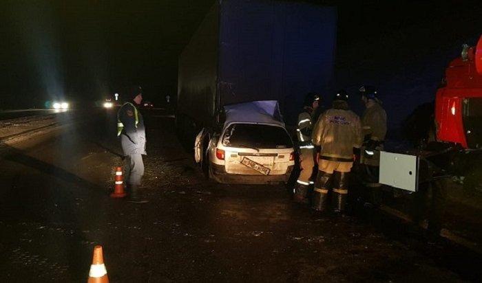 Три человека погибли вДТП сфурой наобъездной дороге Ангарска