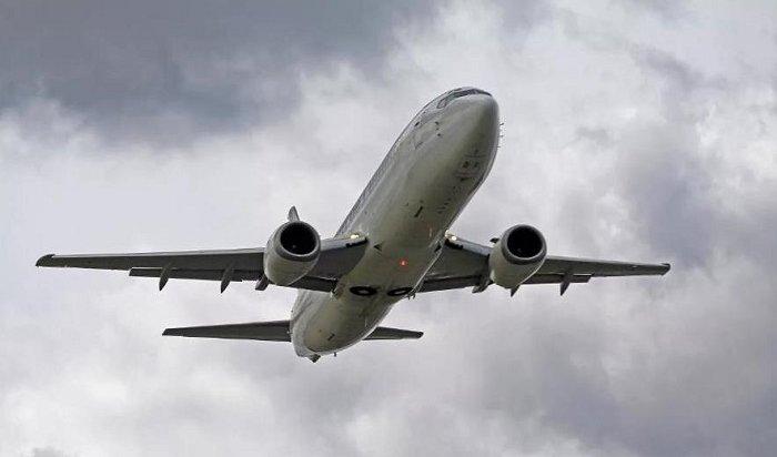 Самолет, вылетевший изИркутска вКрасноярск, вернулся ваэропорт