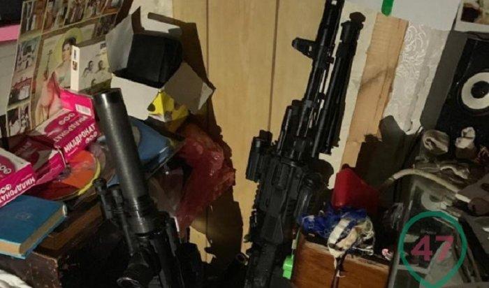 Склад оружия нашли вдоме многодетной семьи под Петербургом (Фото)
