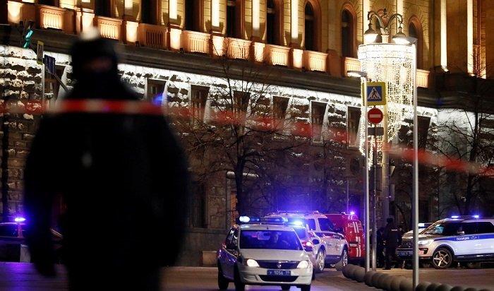 При стрельбе наЛубянке вМоскве погиб сотрудник ФСБ
