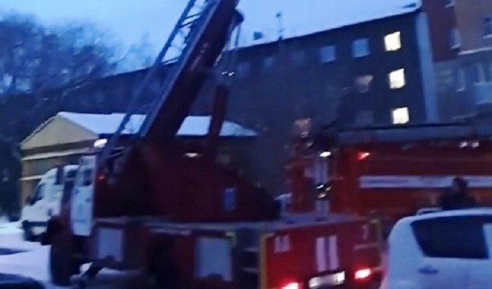 ВИркутске горела квартира вмногоэтажке наулице Байкальской