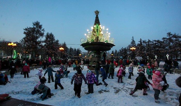 Открытие главной елки состоялось вИркутске (Фото)
