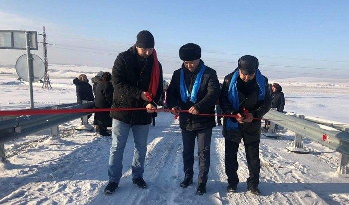 ВИркутской области восстановили мост, разрушенный еще четверть века назад
