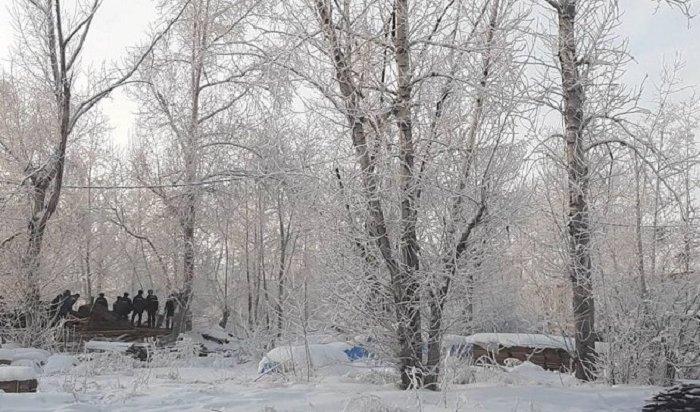 Рабочий погиб при разборе расселенного дома вБратске
