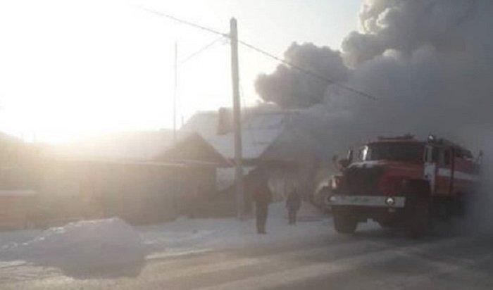 Напожаре под Иркутском погибли двухлетние братья-близнецы