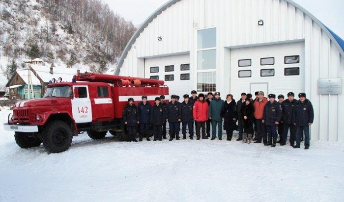 ВПорту Байкал открыли пожарное депо