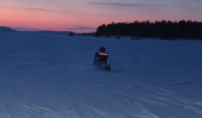 МЧС: Ледовый переход помаршруту «Ангасолка-Слюдянка» небезопасен
