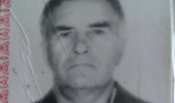 ВТайшете полиция ищет без вести пропавшего пенсионера