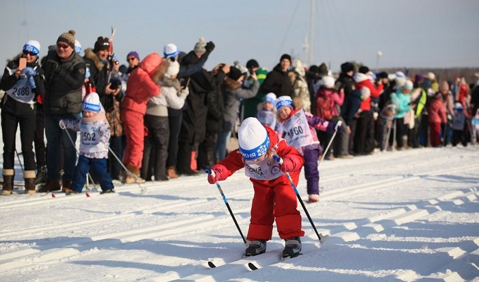 Иркутяне приняли участие в«Лыжне России» (Фото)