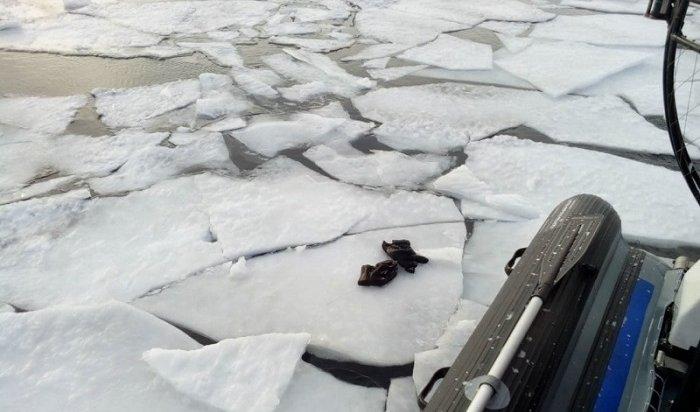 Снегоход провалился под лед Ангары