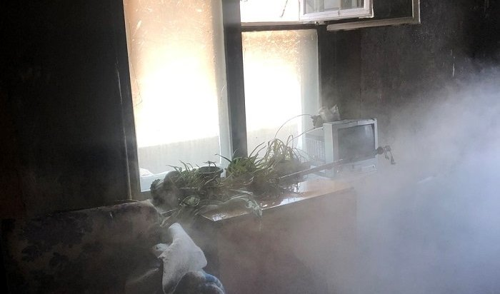 Трое детей пострадали напожаре вдевятиэтажке наулице Маршала Конева