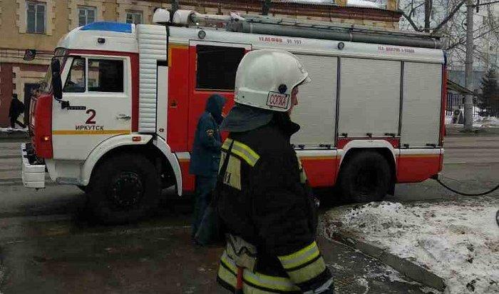Гостиница «Сказка» горела вИркутске