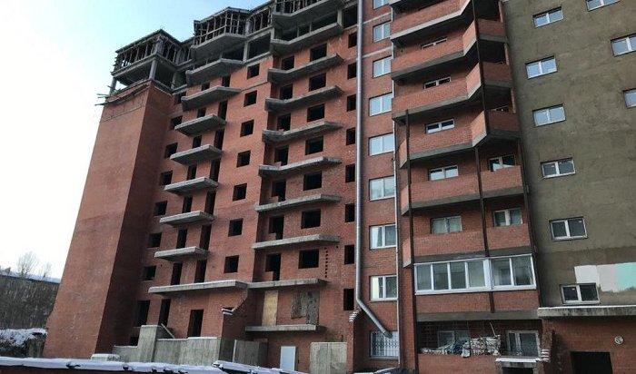 Десятиэтажку наулице Сергеева вИркутске достроят доконца 2021года