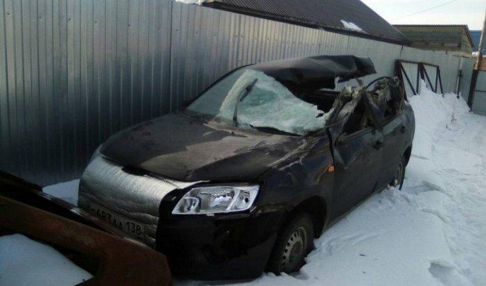 Три человека погибли при столкновении КамАЗа иLada Granta вблизи Куйтуна