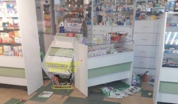 Иркутянка устроила погром ваптеке 8марта (Видео)