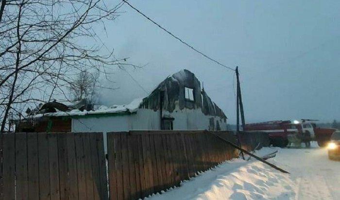 Семья изпяти человек погибла напожаре вИркутской области